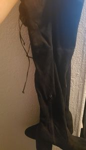 Thigh high boots size 10